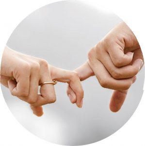 Beziehung im Bild