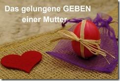 Ostern mit Schrift
