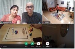 Familienstellen-Videokonferenz